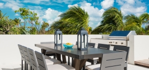big-chill-villa-luxury-turks-and-caicos-rental-barbecue